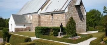 Besøg i Hover Kirke