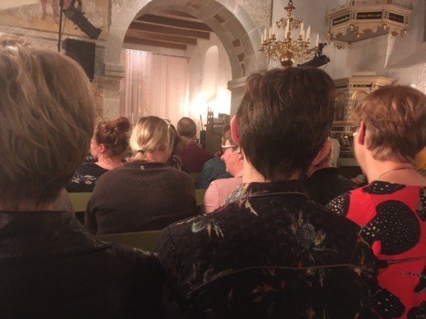 Kirkekoncert i Hover