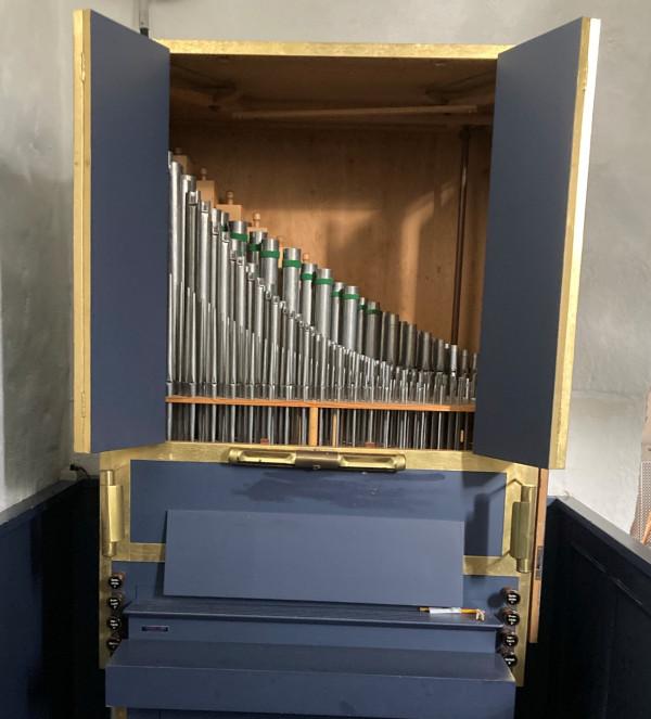 Nyt orgel i Torsted